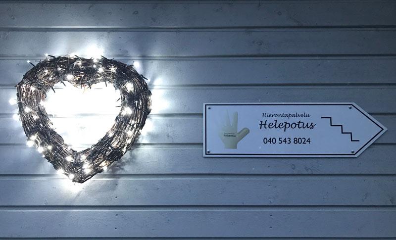 Hierontapalvelu Helepotus